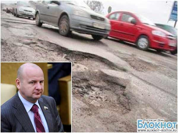 Компанию экс-депутата Кнышова оштрафовали за разбитый участок трассы М-4 «Дон»