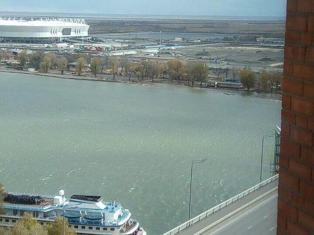 Из-за нагонного ветра и осадков в Ростовской области подтопило несколько городов и районов