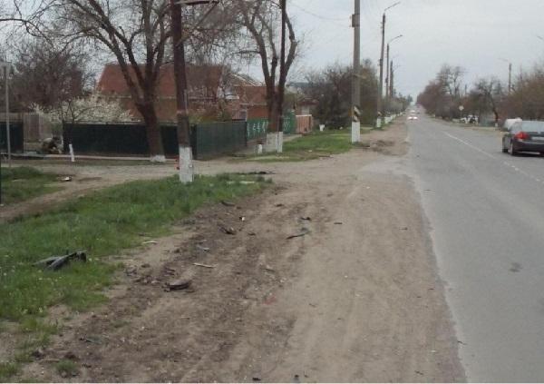 В Семикаракорске мотоциклист, объявленный в розыск, и его девушка погибли в ДТП