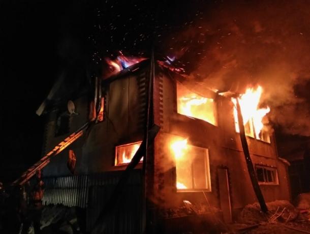 Пожар унес жизни жителей Ростовской области