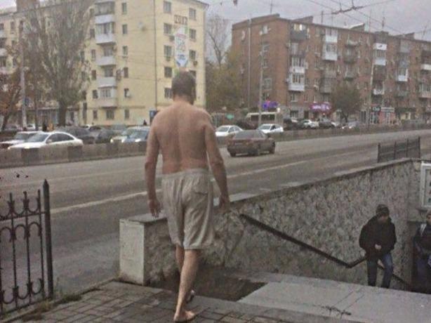На улицы Ростова вышел бесстрашный терминатор на поиски Сары Коннор