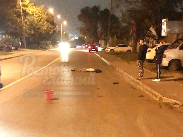Элитная иномарка насмерть сбила мужчину на улице Профсоюзной в Ростове