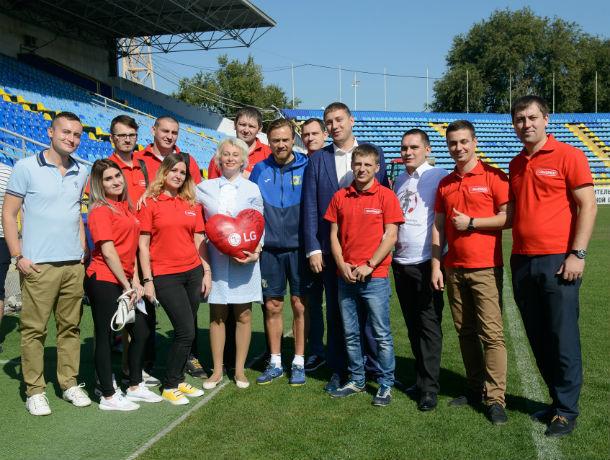 Первый день донора LG с футбольным клубом «Ростов» при участии Валерия Карпина, Александра Гацкана и компании «Эльдорадо»