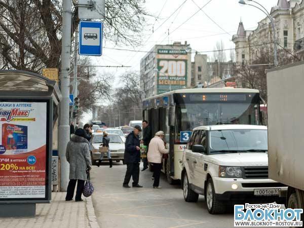 В Ростове на Большой Садовой появятся заездные карманы для общественного транспорта