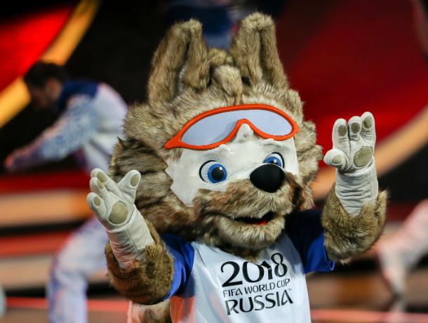 Миленький волк-талисман Забивака будет радовать ростовчан на чемпионате мира